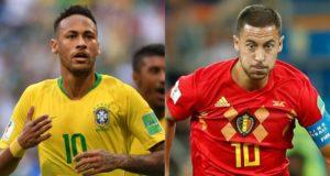 Brasil - Bélgica enfrentarán