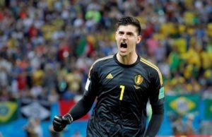 Bélgica - Brasil Courtois