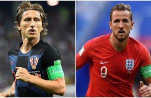 Inglaterra - Croacia segunda