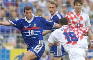 Francia - Croacia final