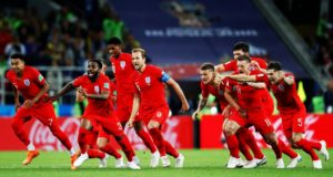 Inglaterra - Colombia