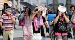 Japón alcanza una temperatura récord en medio de la ola de calor