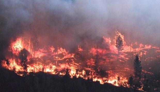 28,000 hectáreas arden en llamas en el norte de British Columbia
