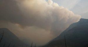 Parque Nacional Waterton Lakes en alerta de evacuación por incendios forestales en Montana