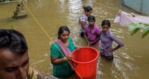 Trabajadores humanitarios en India advierten que la escala de daños por inundaciones aún no está clara
