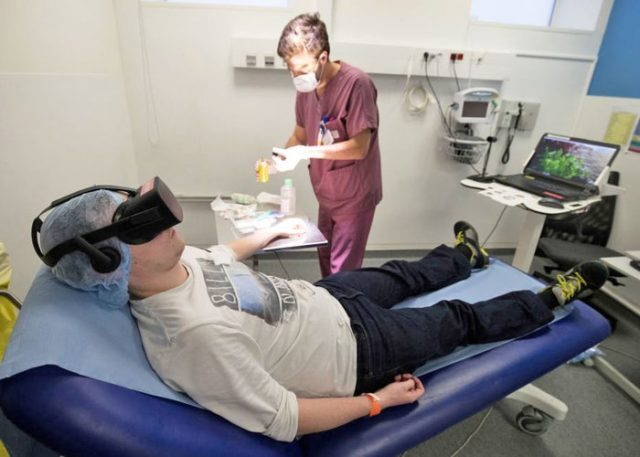 Hospital de Calgary usa realidad virtual como tratamiento para el dolor