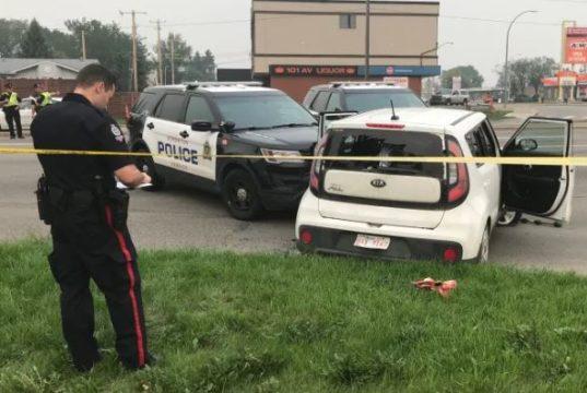 2 hombres detenidos por tiroteo en el noreste de Edmonton