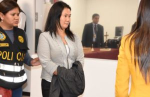 Keiko Fujimori fue detenida por lavado de dinero