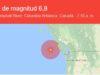 3 sismos entre 6,5 y 6,8 grados de magnitud golpean la isla de Vancouver