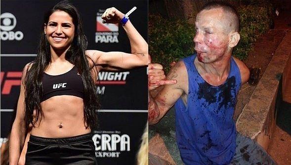 Así terminó un ladrón que intentó robar a una luchadora de la UFC