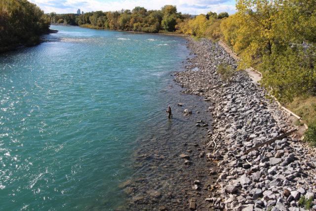 Agregan cinco puntos de acceso al río Bow para la pesca