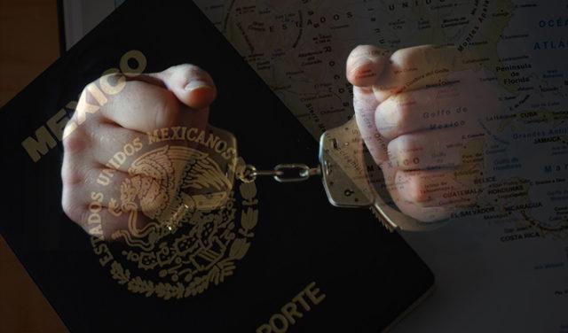 Intentó entrar con un pasaporte falso luego de ser deportado y terminó en la cárcel