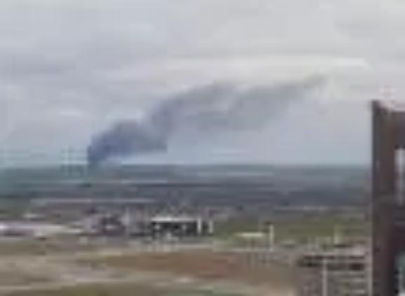 explosión de gas natural