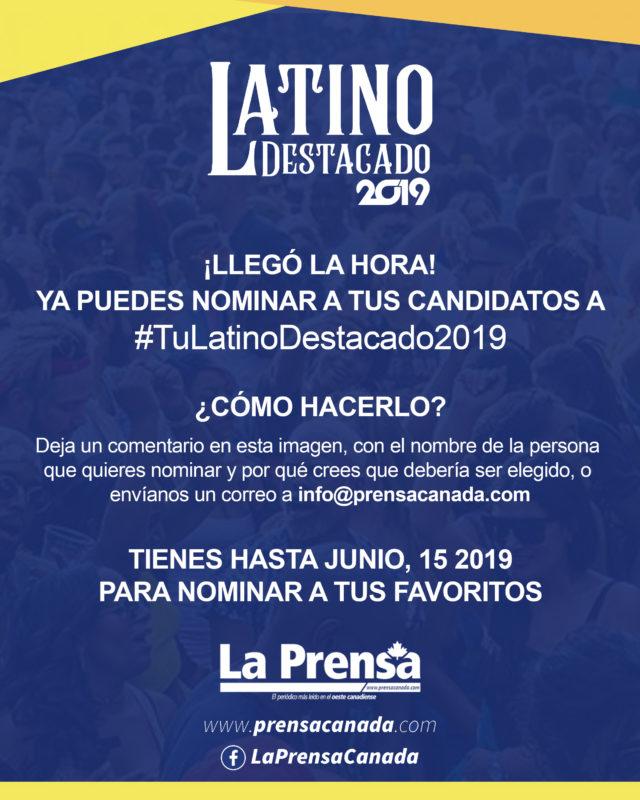 Ya están abiertas las nominaciones para Tu Latino Destacado