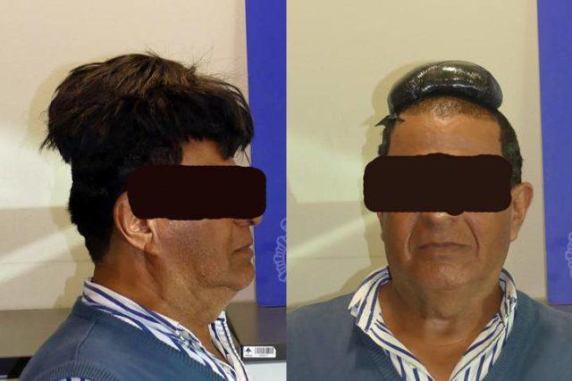 Un hombre intentó contrabandear 44 mil dólares en cocaína en una peluca